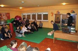 Pierwsza pomoc - szkolenie 2012